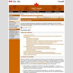 SANTE CANADA 25/11/14 Mise à jour sur les pesticides de la classe des néonicotinoïdes et sur la santé des abeilles