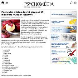 Pesticides : listes des 12 pires et 15 meilleurs fruits et légumes