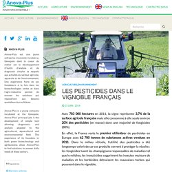 Les pesticides dans le vignoble Francçais