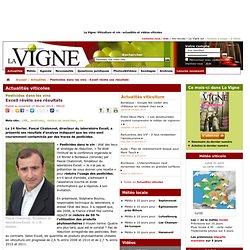 LA VIGNE 15/02/13 Pesticides dans les vins - Excell révèle ses résultats