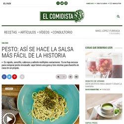 Pesto: así se hace la salsa más fácil de la historia