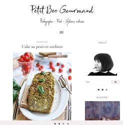 Cake au pesto et sardines