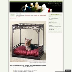 http://wkdesigner.wordpress.com/2009/05/22/pet-bed/
