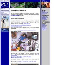 PET Speaking Practice - Example