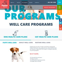 Pet Vet wellness program
