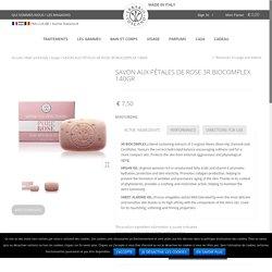 SAVON AUX PÉTALES DE ROSE 3R BIOCOMPLEX 140GR