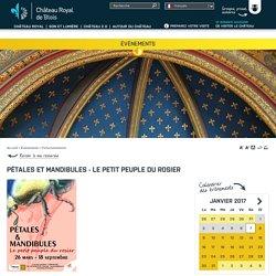 Pétales et mandibules - Le petit peuple du rosier - Château Royal de Blois