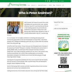 Peter Andrews - Farming Secrets