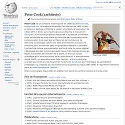 Peter Cook (architecte) - Wikipédia - Waterfox