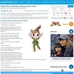 Peter Pan. Cuentos infantiles para tu hijo