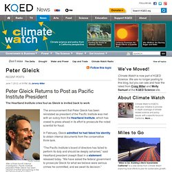 KQED's Climate Watch