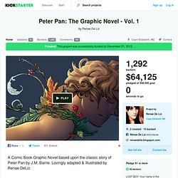 Peter Pan: The Graphic Novel - Vol. 1 by Renae De Liz