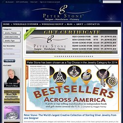 Peter Stone world leader in Celtic & silver jewelry-jewellery
