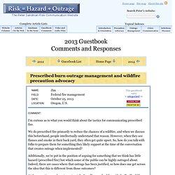 Peter Sandman: Guestbook 2013 - www.psandman.com (HTTP)