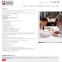 St. Peter's School Barcelona - Work with us