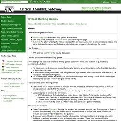 St. Petersburg College Critical Thinking Gateway