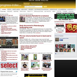 Petersburg news, sports, obituaries, and shopping | progress-index.com | Progress-Index