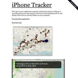 petewarden/iPhoneTracker @ GitHub