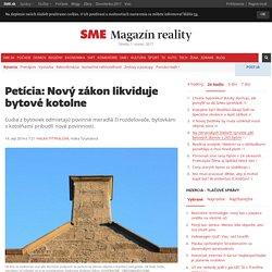 Petícia: Nový zákon likviduje bytové kotolne - magazin-reality.sme.sk