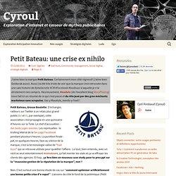 Petit Bateau: une crise ex nihilo