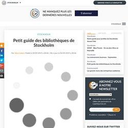 Petit guide des bibliothèques de Stockholm
