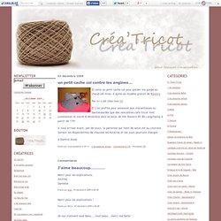 Blog créa'tricot