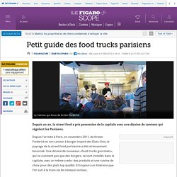 Sortir à Paris : food truck burger street food