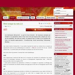 Petit lexique du web 2.0