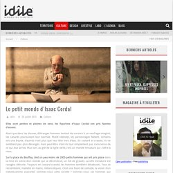 Le petit monde d'Isaac Cordal