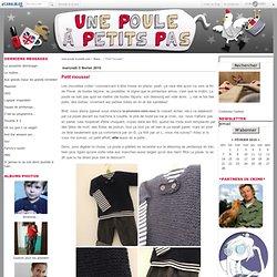 Pull marin 2/3 ans - La Poule