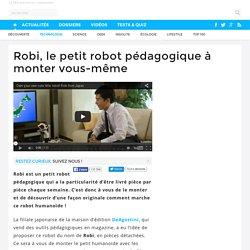 Robi, le petit robot pédagogique à monter vous-même