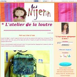 Petit sac à dos à l'anis - Nijenn