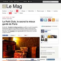 Le Petit Club, le secret le mieux gardé de Paris 10e