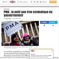 PMA: le petit pas très symbolique du gouvernement