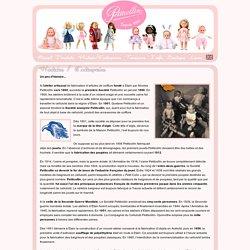 Petitcollin: histoire - fabricant français de poupées traditionnelles et poupées de collection