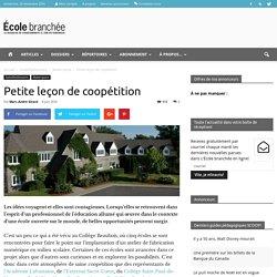 Petite leçon de coopétition - École branchée