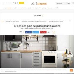 Petite cuisine : 12 astuces gain de place