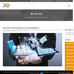 Petite histoire du eCommerce - X2i