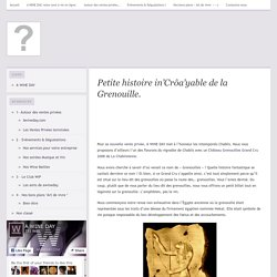 Petite histoire incroyable de la Grenouille