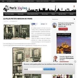 La plus petite maison de Paris