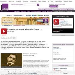 La petite phrase de Vinteuil - Proust