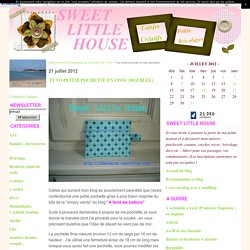 Tuto petite pochette en tissu (doublée) - Sweet little house