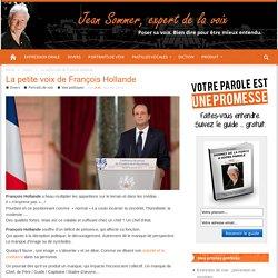 La petite voix de François Hollande