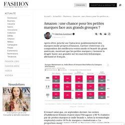 Amazon : une chance pour les petites marques face aux grands groupes ? - Actualité : Business (#1040535)