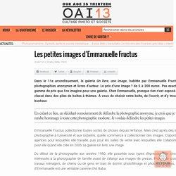 Les petites images d'Emmanuelle Fructus