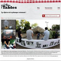 Les Petites Tables Les Apéros de la pétanque reviennent à Paris !