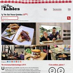 Les petites tables Le Vin Qui Danse, un restaurant à 10 euros