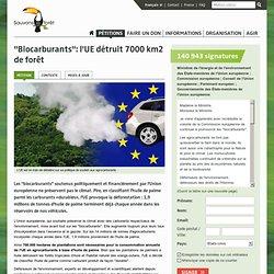 UE : aucun compromis pour les «biocarburants» !