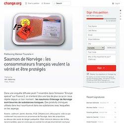 CHANGE - Pétition : Saumon de Norvège : les consommateurs français veulent la vérité et être protégés