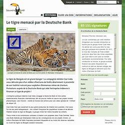 Le tigre menacé par la Deutsche Bank